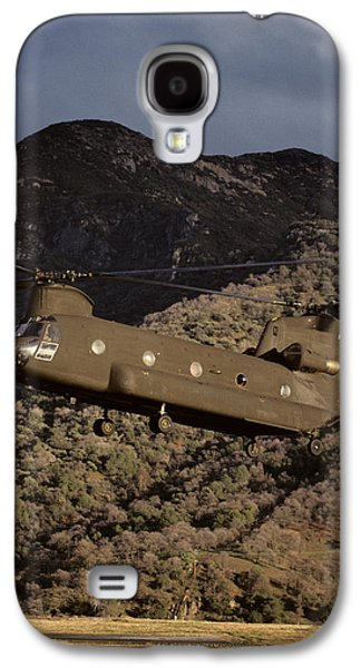 Helicopter Galaxy S4 Case - Usa, California, Chinook Search by Gerry Reynolds