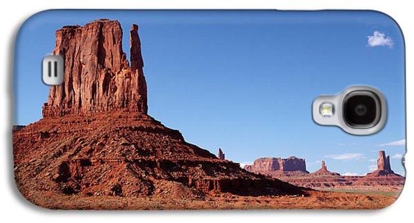 Utah Arizona Border, Navajo Nation Galaxy S4 Case by David Wall