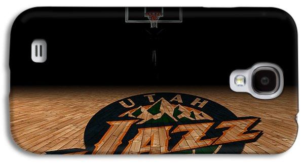 Utah Jazz Galaxy S4 Case by Joe Hamilton