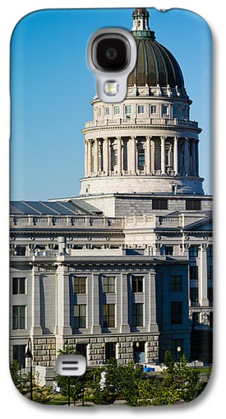 Utah State Capitol Building, Salt Lake Galaxy S4 Case by Panoramic Images