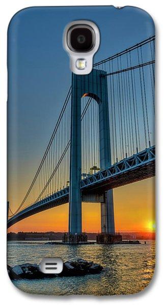 Verrazano-narrows Bridge At Sunset Galaxy S4 Case