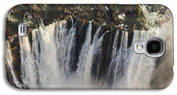 Victoria Falls And Rainbow Zimbabwe Galaxy S4 Case