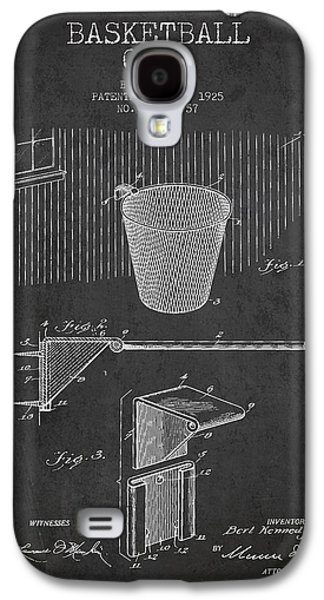 Vintage Basketball Goal Patent From 1925 Galaxy S4 Case by Aged Pixel