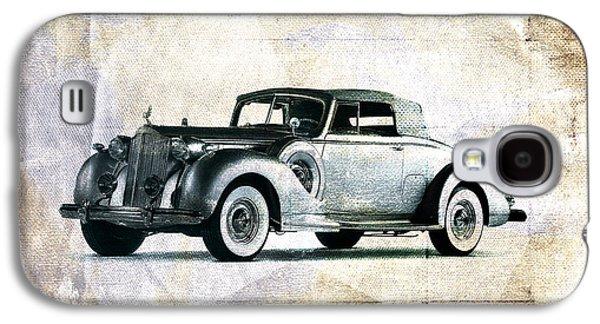 Vintage Car Galaxy S4 Case by David Ridley