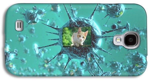 Viral Internet Meme Galaxy S4 Case by Christian Darkin