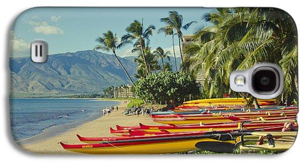 Kenolio Beach Sugar Beach Kihei Maui Hawaii  Galaxy S4 Case