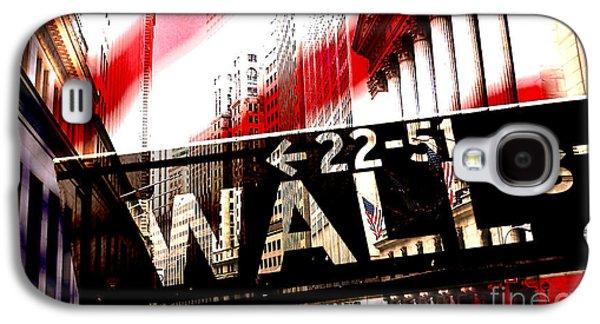 Wall Street Galaxy S4 Case