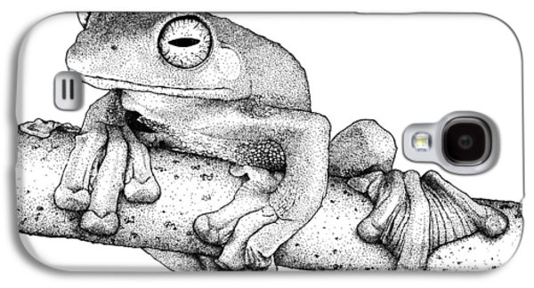 Wallaces Flying Frog Galaxy S4 Case by Roger Hall