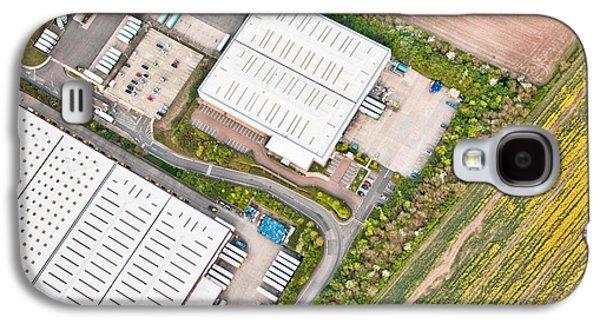 Warehouses Galaxy S4 Case by Tom Gowanlock