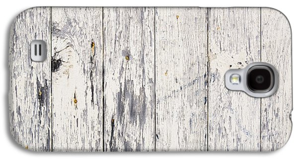 Weathered Paint On Wood Galaxy S4 Case by Tim Hester