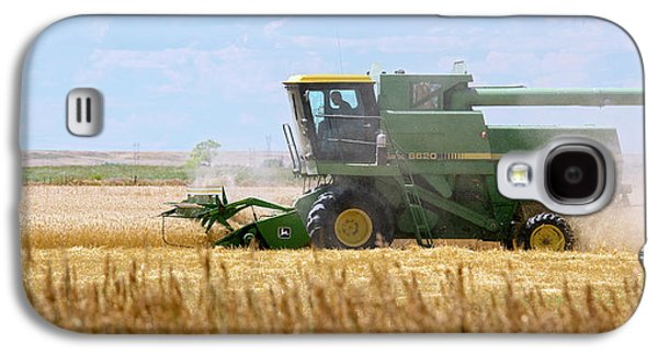 Wheat Harvest Galaxy S4 Case by Jim West