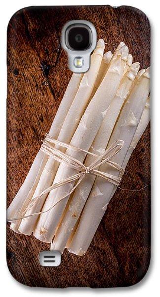 White Asparagus Galaxy S4 Case by Aberration Films Ltd
