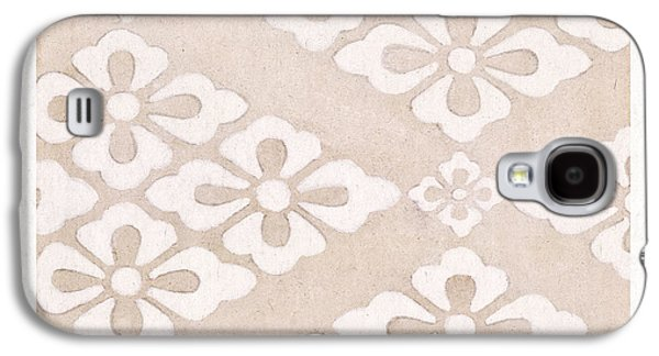 White Flowers Galaxy S4 Case by Aged Pixel
