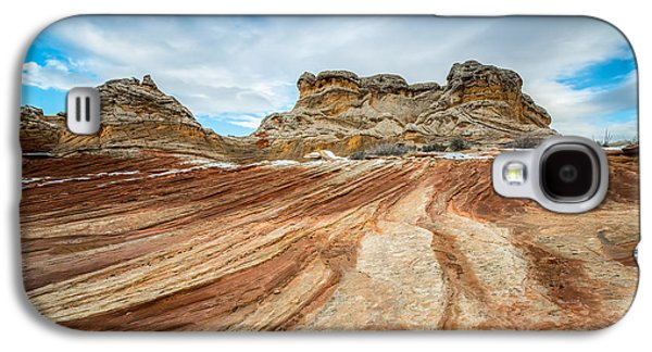 White Pocket Utah Galaxy S4 Case by Larry Marshall