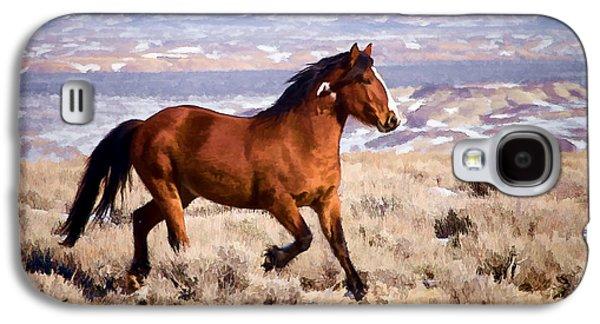 Eagle - Wild Horse Stallion Galaxy S4 Case