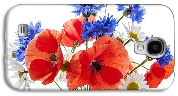 Wildflower Bouquet Galaxy S4 Case by Elena Elisseeva