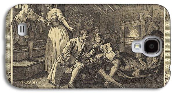 William Hogarth English, 1697 - 1764, The Idle Prentice Galaxy S4 Case
