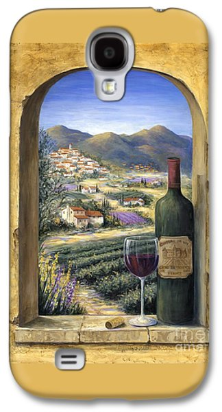 Wine And Lavender Galaxy S4 Case by Marilyn Dunlap