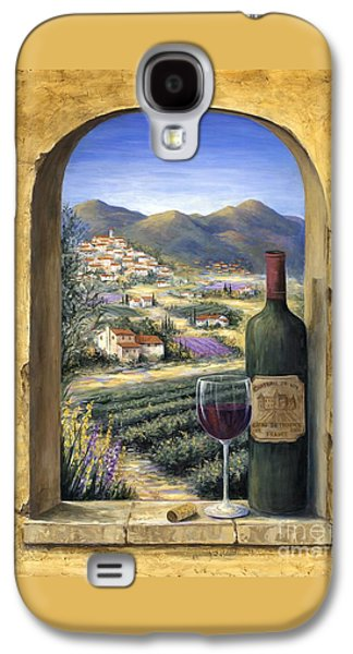 Wine And Lavender Galaxy S4 Case