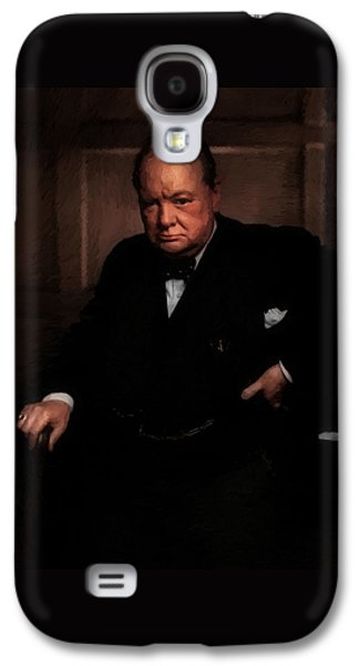Winston Churchill Galaxy S4 Case
