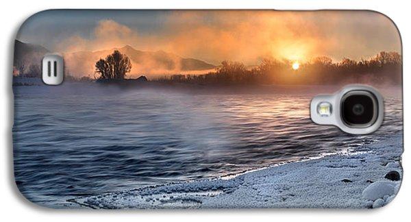 Winter Ambience Galaxy S4 Case by Leland D Howard