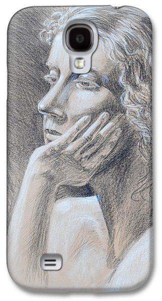 Woman Head Study Galaxy S4 Case