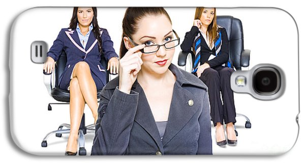 Women Achievers In Corporate Business Galaxy S4 Case by Jorgo Photography - Wall Art Gallery