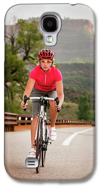 Fort Collins Galaxy S4 Case - Women Cyclists by Steve Glass