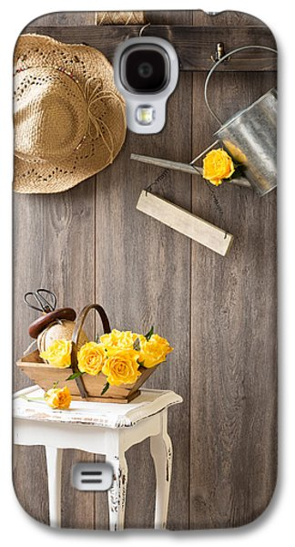 Yellow Roses Galaxy S4 Case