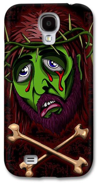 Zombie Superstar Galaxy S4 Case by Steve Hartwell