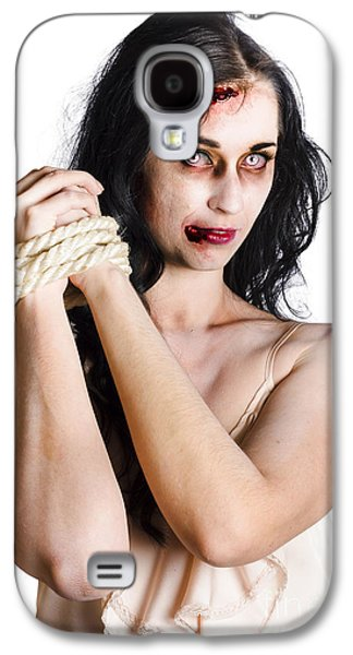Zombie Tied Up Galaxy S4 Case by Jorgo Photography - Wall Art Gallery