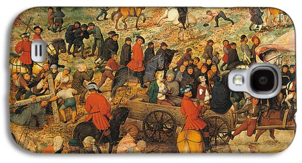 Ascent To Calvary, By Pieter Bruegel Galaxy S4 Case