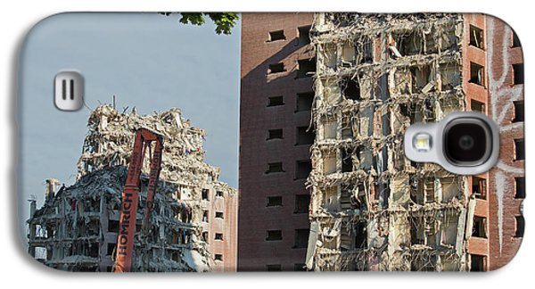 Demolition Of Detroit Housing Towers Galaxy S4 Case