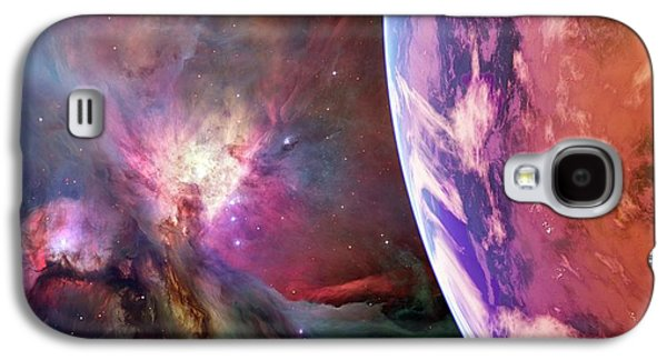 Earth-like Alien Planet Galaxy S4 Case