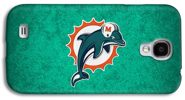 Miami Dolphins Galaxy S4 Case by Joe Hamilton