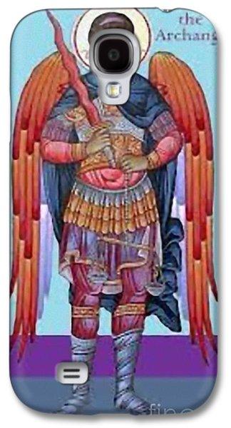 Saint Michael Galaxy S4 Case by Archangelus Gallery