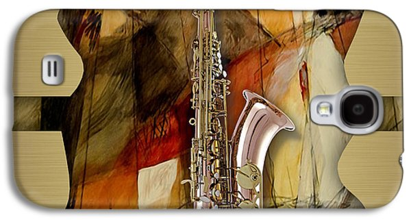 Saxophone Collection Galaxy S4 Case by Marvin Blaine