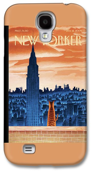 New Yorker January 12th, 2009 Galaxy S4 Case