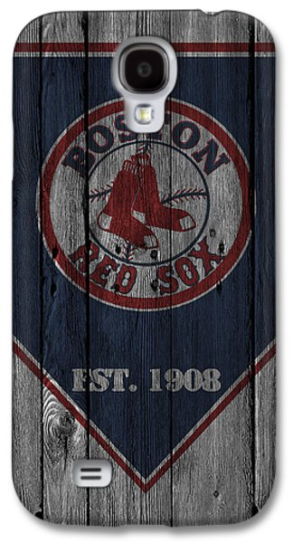 Boston Red Sox Galaxy S4 Case by Joe Hamilton