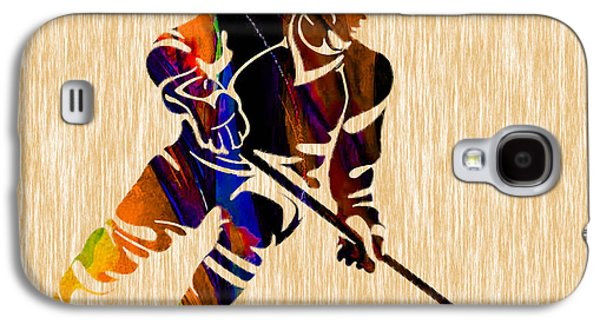 Hockey Galaxy S4 Case by Marvin Blaine