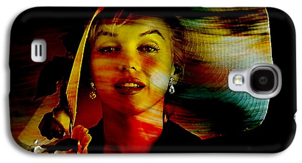 Marilyn Monroe Galaxy S4 Case by Marvin Blaine