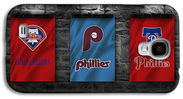Philadelphia Phillies Galaxy S4 Case by Joe Hamilton