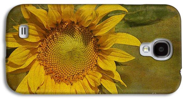 Sunflower Galaxy S4 Case - Sunflower by Cindi Ressler