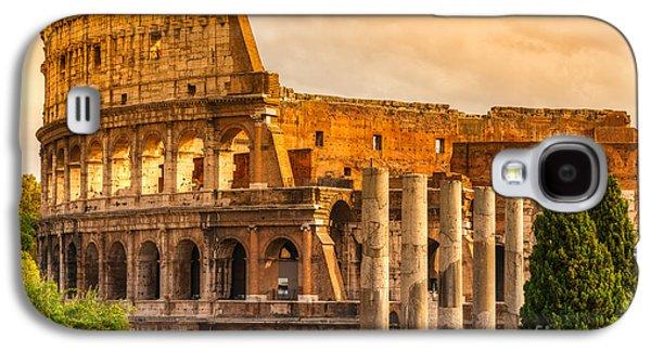 The Majestic Coliseum - Rome Galaxy S4 Case by Luciano Mortula