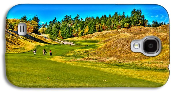 #12 At Chambers Bay Golf Course - Location Of The 2015 U.s. Open Championship Galaxy S4 Case by David Patterson
