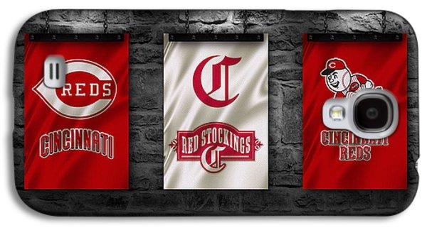 Cincinnati Reds Galaxy S4 Case by Joe Hamilton
