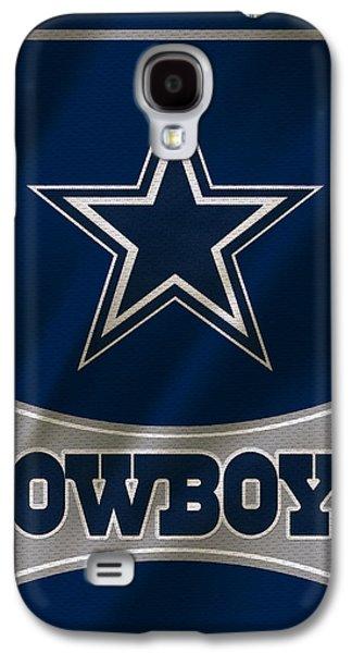 Dallas Galaxy S4 Case - Dallas Cowboys Uniform by Joe Hamilton