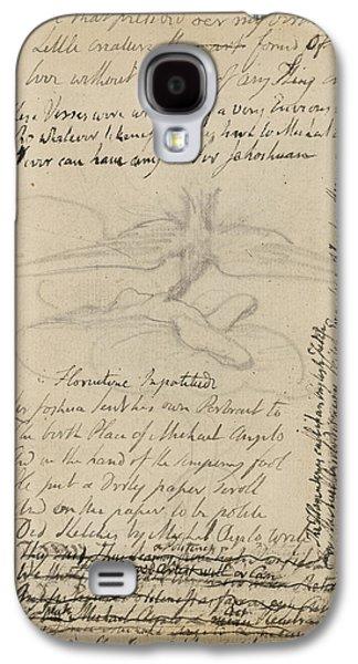 Notebook Of William Blake Galaxy S4 Case