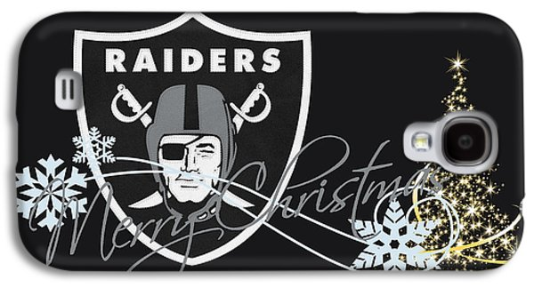 Oakland Raiders Galaxy S4 Case by Joe Hamilton