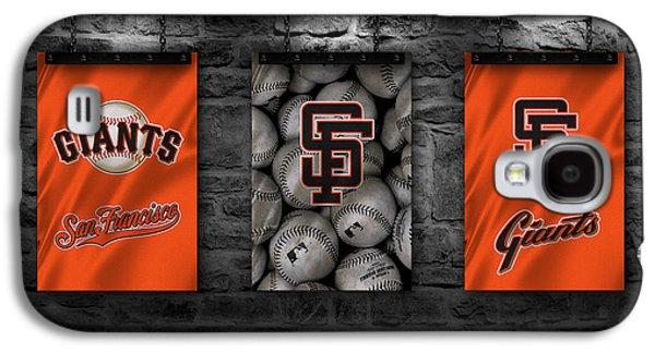 San Francisco Giants Galaxy S4 Case by Joe Hamilton